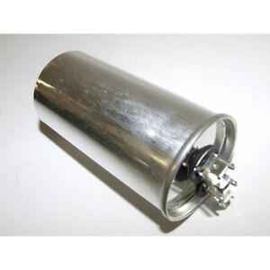 POOL PUMP - METAL ROUND RUN CAPACITOR 25µF / 25UF 400-500V 4 TERMINALS