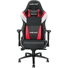 Anda Seat Assassin King Series Gaming Chair - Black, White and Red (AD4XL03BWRPV