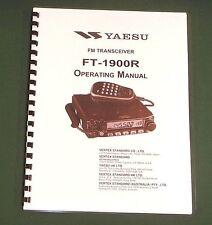 Yaesu FT-1900R Instruction Manual - Premium Card Stock Covers & 28 LB Paper!