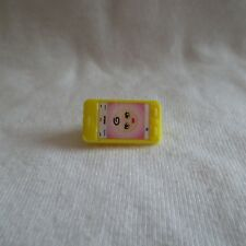 New 2018 Barbie Skipper Babysitter Doll Yellow Cell Phone Accessory For Diorama