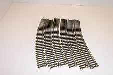 CURVED GOLD TRACKS (LOT OF 6)