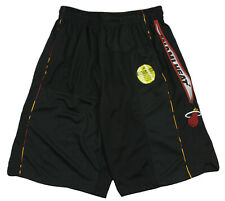 Zipway NBA Basketball Men's Miami Heat Mesh Shorts - Black