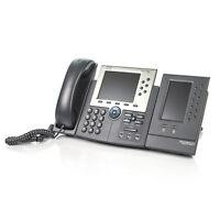 Cisco CP-7965G IP VoIP 6-Line Business Phone w/ 7916 Expansion Module - No AC