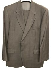 Loro Piana Super 100's 48R Solid Dark Gray Suit EUC