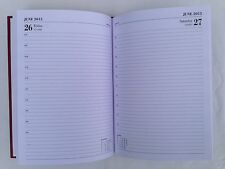 2015  A4 diary 1 day to a page with appointments hardback bound Office A41A