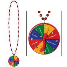 "40"" Beads w/New Year Spinner Medallion"