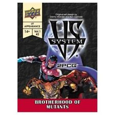 VS System 2PCG: Brotherhood of Mutants Card Game The Upper Deck Company UPR89542