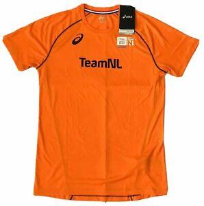 Asics Men's Pro Elite Sochi 2014 Winter Olympics Netherlands Team NL T-Shirt M