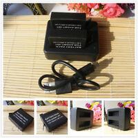 AHDBT-401 battery / USB Dual Charger For Gopro Hero4 HD Black Silver 1160 mAh
