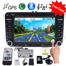"""For VW Jetta Passat Golf 7"""" 2Din HD Touch Car Stereo GPS DVD Player Radio SD"""