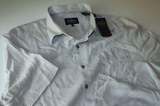 Nat Nast Camp Shirt Moon Beam Grey Silk Blend F6So1J New XX-Large XXL
