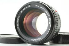 【Excellent+++++】Minolta MD Rokkor 50mm f/1.2 MF Prime Lens From Japan #4861228