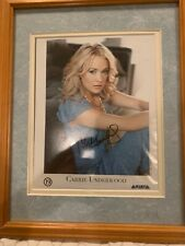 CARRIE UNDERWOOD framed & matted photograph AUTOGRAPHED