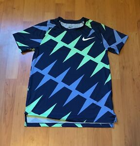 Rare 2020 Nike Pro Elite Track And Field Sponsored Athlete Shirt Size Small
