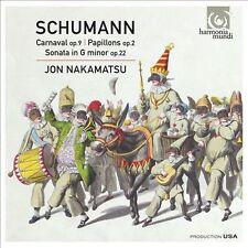 Jon Nakamatsu, Schumann: Carnaval, Papillons, Piano Sonata No.2, Excellent Impor