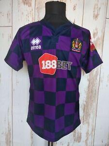 Wigan Warriors Rugby Errea Away Jersey Shirt Soccer Sz L