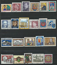 Autriche Lot 22 timbres Obl (FU) 1981 - 84 (lot 5)