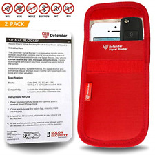 Defender Signal Blocking Pouch RFID - Phone Case Signal Blocking Device - Car -