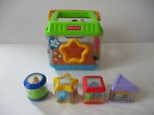 Fisher Price Peek A Block Shape Sorter Baby Preschool Daycare Toy