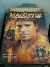 MacGyver - The Complete First Season (Dvd 6-Disc Set) Richard Anderson