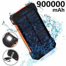 Traveling Solar Battery Pack 2000000mAh Power Bank External Portable Charger