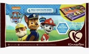 Kinnerton Nickelodeon Paw Patrol Chocolate Bars **bbe 1/5/21**