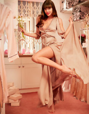New Agent Provocateur Nude Champagne Silk Francis Frances Gown Dress Robe M/L