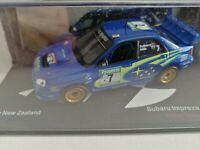 MAG LT01, ALTAYA IXO, SUBARU IMPREZA WRC 2003 RALLY NEW ZEALAND , 1:43 SCALE