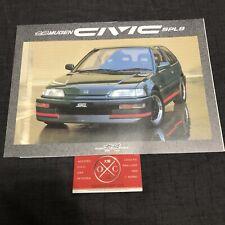 EF Honda Civic Mugen Brochure JDM Catalog Rare EF9 EF3 Hatchback 88-91 87 89 90