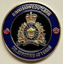 Royal Canadian Mounted Police RCMP Explosives Disposal CBRN CBRNE EOD 40th Year