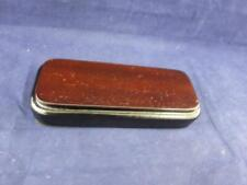 Small Oblong Wooden Display Base 5.25 inches in Length.