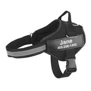 Dog Harness NO PULL Reflective Breathable Adjustable Pet Harness For Dog Vest