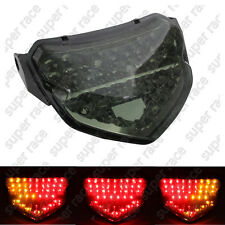 Smoke Integrated LED Tail Light Turn Signals For 2004-2005 Suzuki GSXR 600/750