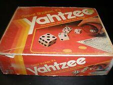 VINTAGE MILTON BRADLEY YAHTZEE 1982