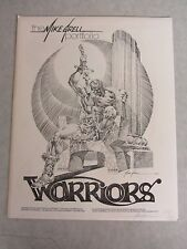 The Mike Grell Portfolio ~ Warriors ~ Signed & Numbered ~ 5 Color Prints ~ 1980