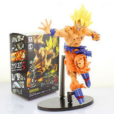 New 7'' Dragon Ball Z Fighting Son Goku Pvc Figures Toys Collection ANIME Doll