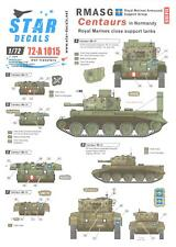 Star Decals 1/72 ROYAL MARINES ARMOURED SUPPORT GROUP CENTAUR TANKS IN NORMANDY
