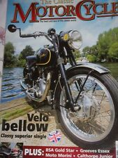The Classic Motor Cycle 02/05  Velocette Venom, BSA Gold Star,Enfield ,Greeves