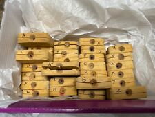 """Lost Wax Casting Rubber Mold Alphabet Letters 1/2"""""""