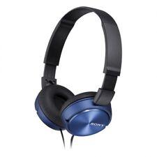 Auriculares Diadema con Microfono Cascos Sony MDRZX310APR Color Azul