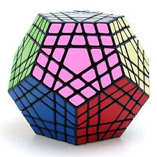 SS 5x5x5 Megaminx Gigaminx Twisty Puzzle Magic Cube Intelligence Toys Gift Black
