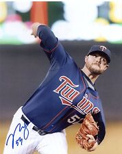 Ryan Pressly Action Minnesota Twins Autographed Signed 8X10 Photo