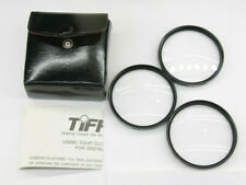 Tiffen - 58mm Close-Up +1 +2 +4 Lens Filter Kit with Case - Used - C860