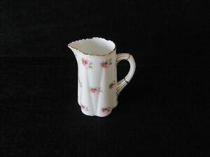 Rare Foley China Pre- Shelley Creamer Milk Jug Spring Roses 1890-1910