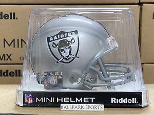 OAKLAND RAIDERS (1963 Throwback) Riddell VSR4 Mini Helmet