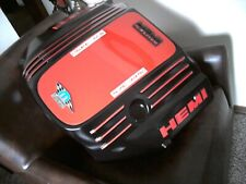 2005-2020 DODGE/CHRYSLER 5.7 HEMI ENGINE CUSTOM ENGINE COVER BLACK-RED COMPLETE