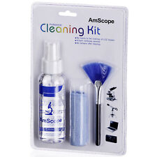 AmScope 3 in 1 Professional Cleaning Kit - Microscopes Cameras Laptop LCD screen