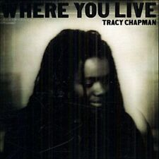 TRACY CHAPMAN - WHERE YOU LIVE [CD]