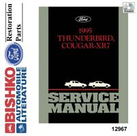 1995 Ford Thunderbird, Mercury Cougar XR7 Shop Service Repair Manual CD