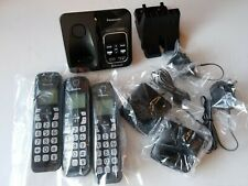New Panasonic Kx-Tgd560 Link2Cell Bluetooth Phone Kx-Tgda51 W/ 3 Phones